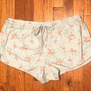 Flamingo 🦩 PJ Bottoms - Shorts - Size XL